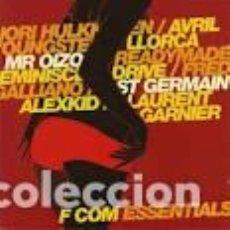 CDs de Música: F COM ESSENTIALS. LLORCA. FREDERIC GALLIANO. LAURENT GARNIER. ST GERMAIN. AVRIL. Y OTROS. Lote 80926128