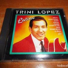 CDs de Música: TRINI LOPEZ LATINO CD ALBUM DEL AÑO 1990 ESPAÑA PERFIDIA LA BAMBA CIELITO LINDO CONTIENE 14 TEMAS. Lote 81009248