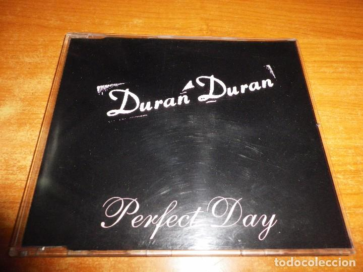 DURAN DURAN PERFECT DAY CD SINGLE PROMO 1995 UK PORTADA DE PLASTICO CONTIENE 1 TEMA (Música - CD's Pop)