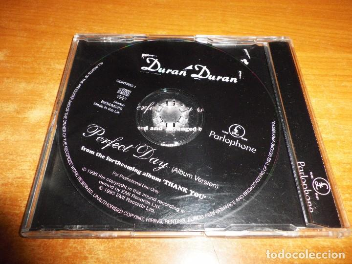 CDs de Música: DURAN DURAN Perfect day CD SINGLE PROMO 1995 UK PORTADA DE PLASTICO CONTIENE 1 TEMA - Foto 2 - 81020876