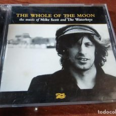 CDs de Música: THE WATERBOYS THE MUSIC OF MIKE SCOTT AND THE WATERBOYS THE WHOLE OF THE MOON. Lote 81027860