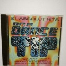 CDs de Música: CD ON A DANCE TIP - 21 ABSOLUT HITS - GLOBAL 1995. Lote 81031812