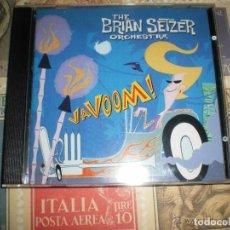 CDs de Música: THE BRIAN SETZER ORCHESTRA VAVOOM! 2000 INTERCOPE RECORDS EX STRAY CATS. Lote 103821814