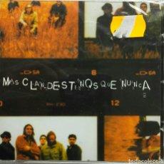 CDs de Música: CLANDESTINOS MÁS CLANDESTINOS QUE NUNCA. Lote 81092220