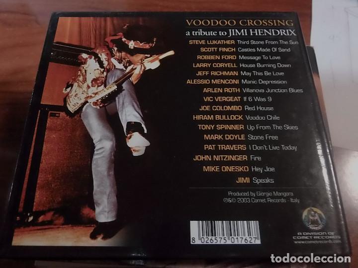 CDs de Música: JIMI HENDRIX TRIBUTE VOODOO CROSSING - Foto 2 - 81104688