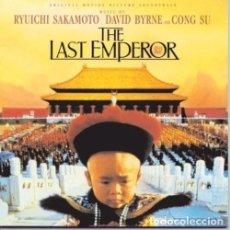 CDs de Música: THE LAST EMPEROR / EL ÚLTIMO EMPERADOR - SAKAMOTO / BYRNE / GONG SU. Lote 81119008