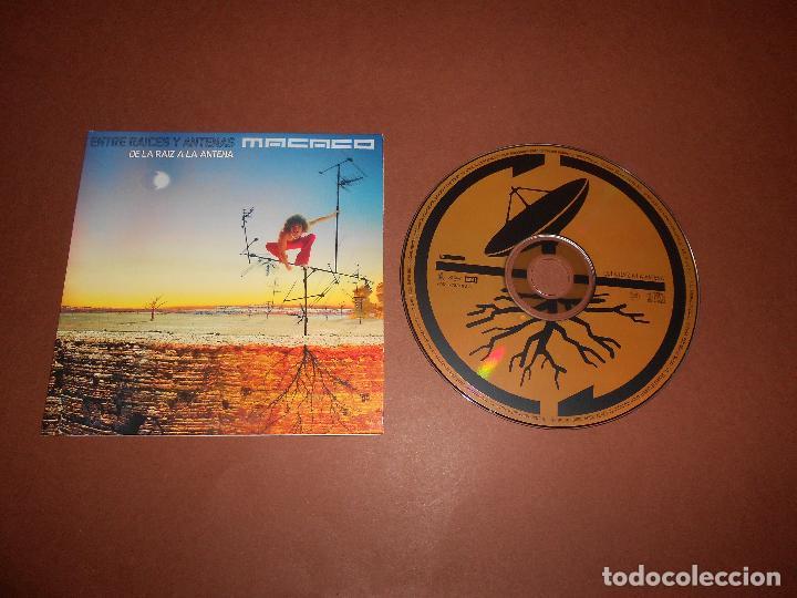 MACACO ( ENTRE RAICES Y ANTENAS - DE LA RAIZ A LA ANTENA ) - CD PROMO - EMI - MUNDO ZURZO 2004 (Música - CD's Reggae)
