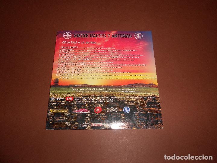 CDs de Música: MACACO ( ENTRE RAICES Y ANTENAS - DE LA RAIZ A LA ANTENA ) - CD PROMO - EMI - MUNDO ZURZO 2004 - Foto 3 - 81176364