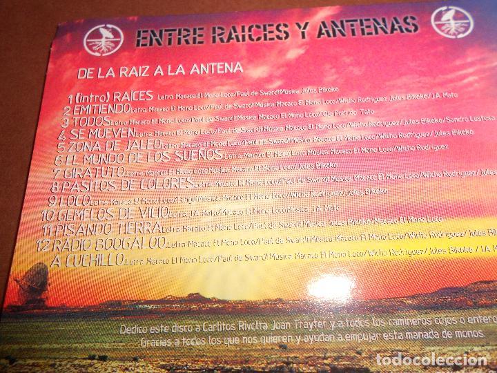 CDs de Música: MACACO ( ENTRE RAICES Y ANTENAS - DE LA RAIZ A LA ANTENA ) - CD PROMO - EMI - MUNDO ZURZO 2004 - Foto 4 - 81176364