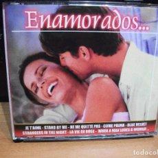 CD di Musica: CAJA 4 CDS ENAMORADOS. 60 CANCIONES COMO NUEVO¡¡¡. Lote 81238184
