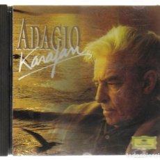 CDs de Música: CD - SELECCION DE KARAJAN - MAHLER, PACHELBEL, MASSENET, VIVALDI, MOZART, ALBINIONI, SIBELIUS, BACH . Lote 81268264