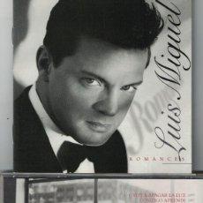 CDs de Música: LUIS MIGUEL - ROMANCES (CD, WEA 1997). Lote 81285752