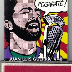 CDs de Musique: JUAN LUIS GUERRA Y LOS 4.40 - FOGARATE (CD, BMG 1994). Lote 81288504
