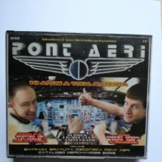 CDs de Música: CD PONT AERI - 10 AÑOS A TODA MAQUINA - TEMPPO MUSIC 2002. Lote 81325824