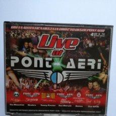 CDs de Música: CD PONT AERI - LIVE AT - TEMPPO MUSIC 2001. Lote 81326044