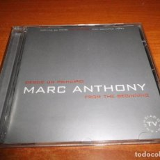 CDs de Música: MARC ANTHONY DESDE UN PRINCIPIO FROM THE BEGINNING CD ALBUM 2000 JENNIFER LOPEZ INDIA 15 TEMAS. Lote 81538996