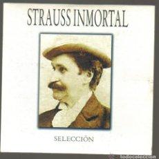CDs de Música: CD - STRAUSS INMORTAL - SELECCION. Lote 81557456