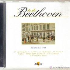 CDs de Música: CD - BEETHOVEN - SINFONIA Nº 9. Lote 81557668