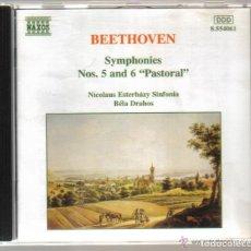 CDs de Música: CD - BEETHOVEN - SINFONIAS Nº 5 Y 6 PASTORAL. Lote 81558204