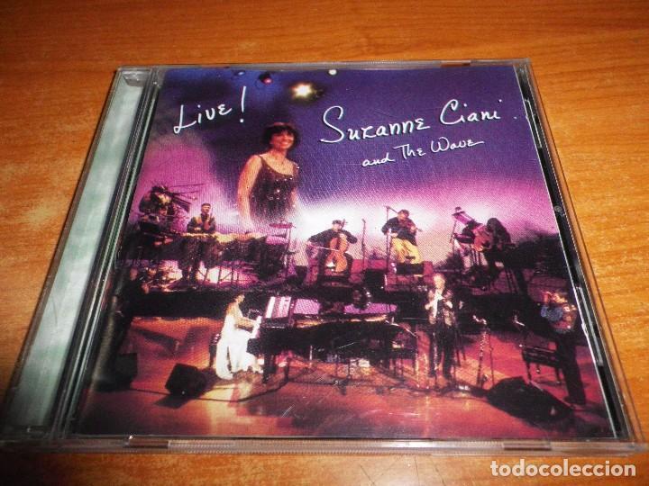 SUZANNE CIANI AND THE WAVE LIVE CD ALBUM DEL AÑO 1997 CONTIENE 16 TEMAS NEW WAVE RARO (Música - CD's New age)