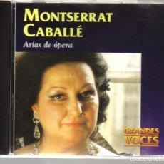 CDs de Música: CD - MONTSERRAT CABALLE - 16 ARIAS DE OPERA. Lote 81558720