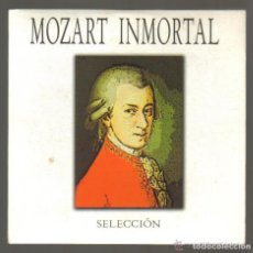 CDs de Música: CD - MOZART INMORTAL - SELECCION. Lote 81559044