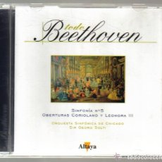 CDs de Música: CD - BEETHOVEN - SINFONIA Nº 5 - OBERTURAS CORIOLANO Y LEONORA III. Lote 81559256