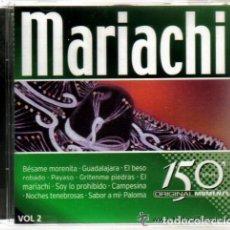 CDs de Música: CD - MARIACHI - 25 TEMAS. Lote 81560652