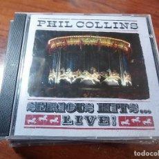 CDs de Música: PHIL COLLINS SERIOUS HITS LIVE. Lote 81566788