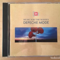 CDs de Música: DEPECHE MODE: MUSIC FOR THE MASSES. Lote 81605164
