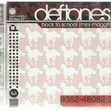CDs de Música: DEFTONES - BACK TO SCHOOL (MINI MAGGIT) - CD MAXI EP MAVERICK 2001. Lote 81631736