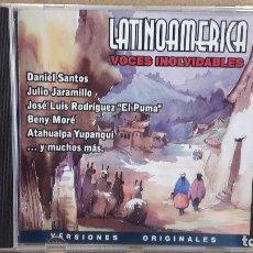 CDs de Música: LATINOAMERICA. VOCES INOLVIDABLES. CD / CRIN - 2000. 12 TEMAS / CALIDAD LUJO.. Lote 81653912