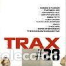 CDs de Música: TRAX 28. CODEC & FLEXOR. CHICKEN LIPS. JOHANNES HEIL. LEE VAN DOWSKI. MISS YETTI. ALEX UNDER......... Lote 81665760