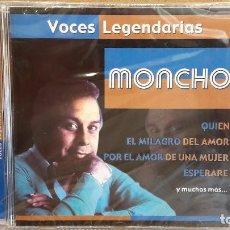 CDs de Música: MONCHO. VOCES LEGENDARIAS. CD / CRIN - 2001. 12 TEMAS / PRECINTADO.. Lote 81684668