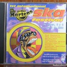 CDs de Música: 1ST DR. MARTENS INTERNATIONAL SKA FESTIVAL. 1998. Lote 81690448