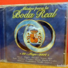CDs de Música: MÚSICA PARA LA BODA REAL - CD. Lote 81696684