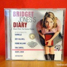 CDs de Música: BRIDGET JONES´S DIARY EL DIARIO DE BRIDGET JONES - CD BSO. Lote 81698628