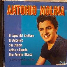 CDs de Música: ANTONIO MOLINA. RECOPILATORIO EXITOS. CD / EFEN RECORDS - 1999. 12 TEMAS / CALIDAD LUJO.. Lote 81724024