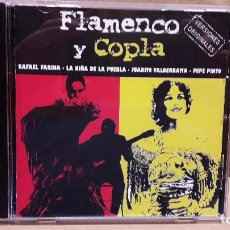 CDs de Música: FLAMENCO Y COPLA. VARIOS ARTISTAS. CD / CRIN - 2001. 12 TEMAS / CALIDAD LUJO.. Lote 81724052