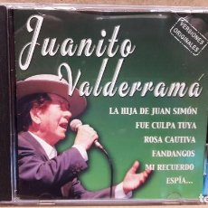 CDs de Música: JUANITO VALDERRAMA. RECOPILATORIO. CD / CRIN - 2001. 12 TEMAS / CALIDAD LUJO.. Lote 81726700