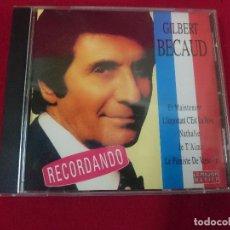 CDs de Música: GILBERT BECAUD - RECORDANDO. Lote 81746716
