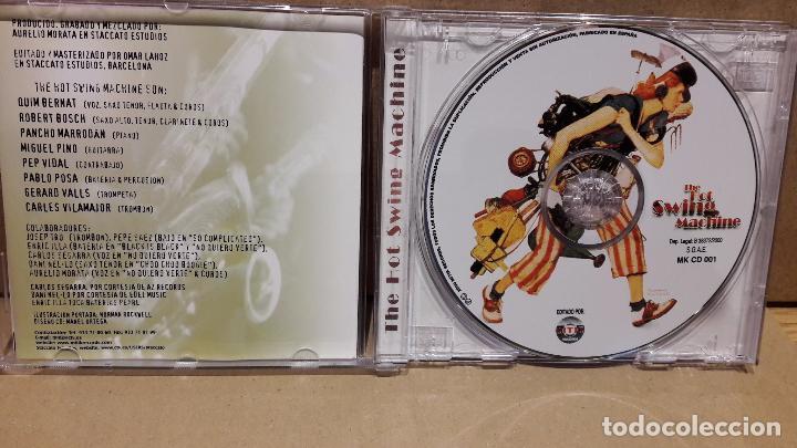 CDs de Música: THE HOT SWING MACHINE. CD / MITIK RECORDS - 2000. 10 TEMAS / CALIDAD LUJO. - Foto 2 - 81802872
