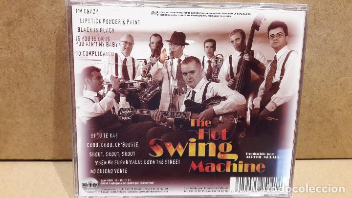 CDs de Música: THE HOT SWING MACHINE. CD / MITIK RECORDS - 2000. 10 TEMAS / CALIDAD LUJO. - Foto 3 - 81802872