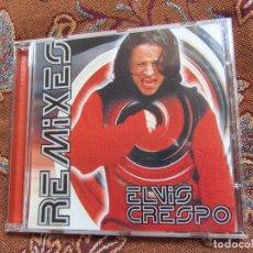 CDs de Música: ELVIS CRESPO CD TITULO REMIXES. CON 9 TEMAS - ORIGINAL DEL 99-MADE IN AUSTRIA- NUEVO AUNQUE ABIERTO. Lote 81885464