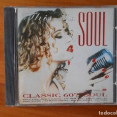 CDs de Música: CD THIS IS SOUL - CLASSIC 60'S SOUL (P9). Lote 81894188