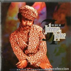 CDs de Música: CD THE BEST OF JOHNNIE TAYLOR ( THE PHILOSOPHER OF SOUTHERN SOUL ) . Lote 81950308