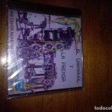CDs de Música: EL CARNAVAL Y LA PRENSA. ASI CANTA NUESTRA TIERRA EN CARNAVAL. NUEVO PRECINTADO. B6CD. Lote 82025388