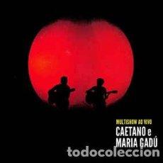 CDs de Música: CAETANO E MARIA GADÚ – MULTISHOW AO VIVO (2 X CD). Lote 82031968