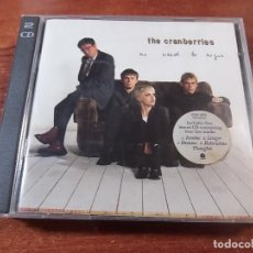 CDs de Música: THE CRANBERRIES NO NEED TO ARGUE DOBLE CD. Lote 82068696