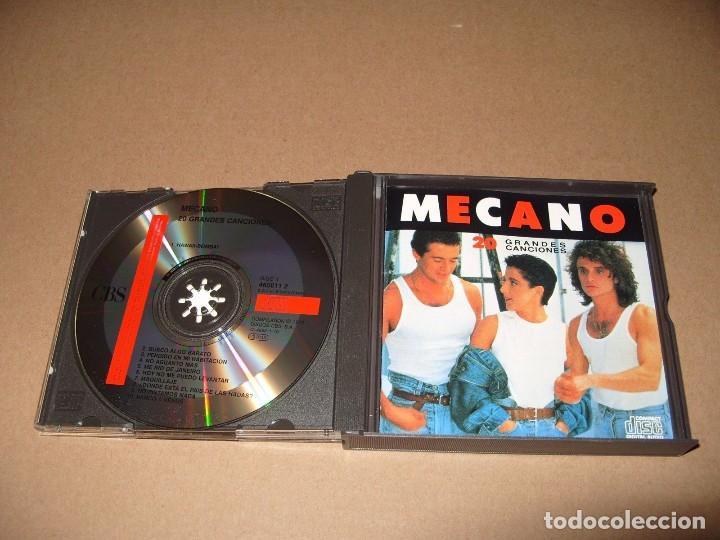MECANO: 20 GRANDES CANCIONES (CBS 1989, 2 CDS, DOBLE CD) COMO NUEVO (Música - CD's Pop)